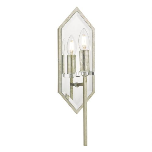 Jozelle Wall Light Mirror & Antique Silver (double insulated) BXJOZ0756-17